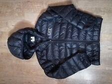 Junior Boys EA7 Age 12A Soft Light Weight Puffer Jacket - black - VGC