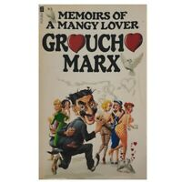 Memoirs of a Mangy Lover by Groucho Marx, Humour, Autobiography, Vintage, 1978