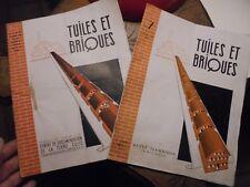 Tuiles et Briques Ancien Magazine de la Tuilerie et de la Briqueterie 1951