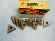 10 New Valenite Carbide Inserts Tpma 434 W V88 Steel 1128