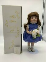 """For You"" by Donald Zolan Porcelain Doll by Hamilton Collection"
