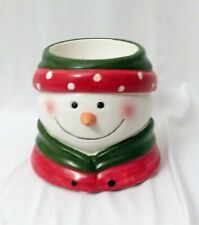 Yankee Candle Snowman Votive Candle Holder