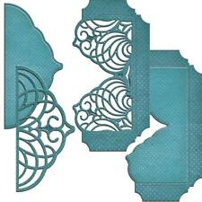 Spellbinders Shapeabilities Die ~ CASCADING GRACE POCKET ~ S6-046 ~Amazing Paper