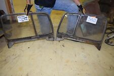 1934 Chrysler 4dr Door Windows and Vents Glass and Frames
