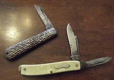 2 Vintage Pocket Knives - Lk Co. Metal Pocket Knife and Royal Brand