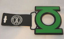 DC COMICS GREEN LANTERN LOGO CUTOUT GREEN ENAMEL AUTHENTIC/LICENSED BELT BUCKLE