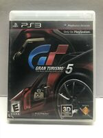 Gran Turismo 5 - PlayStation 3 PS3 - Complete Black Label - Tested Working