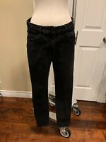 3X1 NYC Black Denim High Waist Skinny Jeans, Size 31