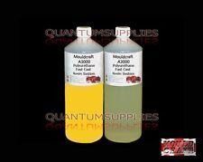 MOULDCRAFT A3000 2kg Amarillo Fundido Rápido Poliuretano Líquido Plástico Resina de colada