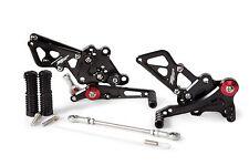 2013-2017 Ninja 300 BLACK Hotbodies MGP Rear Sets 2014 2015 2016 Kawasaki