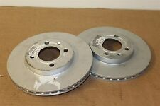 256 x 20mm 4x100 front brake discs Golf MK2 Corrado 6N0615301D Genuine VW parts