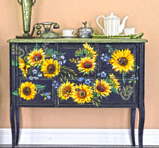 Furniture Decals, SUNFLOWER FIELDS by ReDesign with Prima, Furniture Transfers