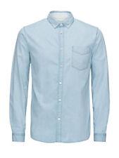 Camicie casual e maglie da uomo JACK & JONES denim
