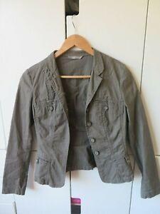 JACQUI-E Sz 6 Olive Jacket GC