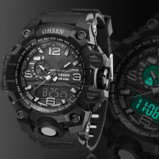 Reloj deportivo de pulsera dual digital resistente al agua Sports  para hombre
