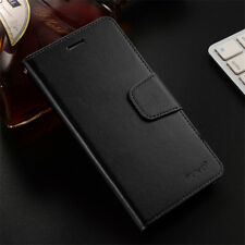 For Huawei P8 P9 Lite Mini 2017 Luxury Leather Flip Wallet Magnetic Case Cover
