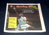 THE SPORTING NEWS COMPLETE NEWSPAPER JANUARY 26 1974 DAVID THOMPSON N.C. STATE