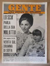 GENTE n°4 1967 Farah Diba Grace Kelly Festival Sanremo 1967 [G501]