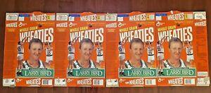 WHEATIES 1993 Commemorative Edition Larry Bird Retirement Ceremony (Set of 4)