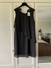 Debenhams Collection Size 16 Black Dress