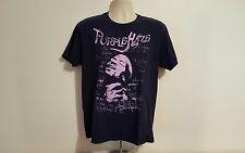 Jimi Hendrix Purple Haze Adult Large Black T-Shirt