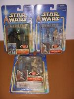 Star Wars, Empire Strikes Back, Lot of 3 Action Figures, Skywalker Darth Vader!