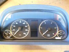 Mercedes W169 A180CDI  2007 Tacho Scheibe Instrument Cluster 1031098100 Miles