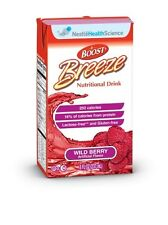 Boost Breeze Wild Berry 8 Ounce, Nutritional Drink, Fresh Product, Case of 27