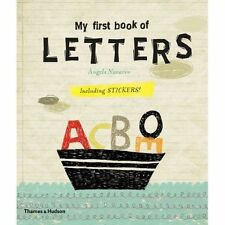 My First Book of Letters, Laura Prim, Àngels Navarro, New Book