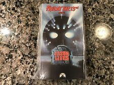 Friday The 13th Part 6 VI Jason Lives Factory New VHS! Awesome 1986 Slasher!