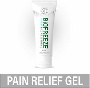 Biofreeze Professional 4 oz Gel GREEN Tube LONG LASTING FREE SHIPPING
