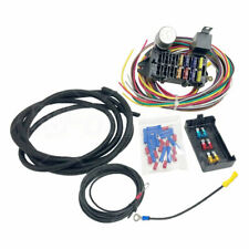 10 Circuit Basic Wire Harness Fuse Box W Street Hot Rat Rod Wiring Car Truck 12V