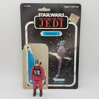 Vintage 1984 Star Wars B-Wing Pilot Kenner Return of the Jedi with Cardback