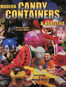 Modern Candy Containers & Novelties - Identification + Values / Scarce Book