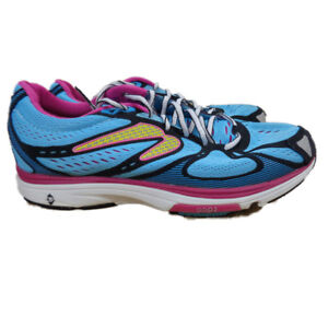 Newton Women's Kismet Running Shoe EU 41 US 9.5 Blue-Pink (W011814B)