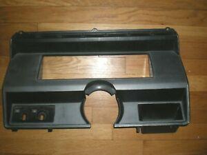 Used Original 1980-1986 Ford F150 F250 F350 Dash Cluster Bezel Surround E0TB
