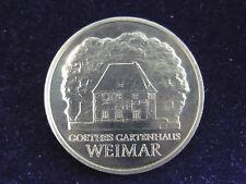 DDR.  5 Mark, 1982 A, Goethes Gartenhaus, Cu/Ni/Zn.! orig.! f/St.!