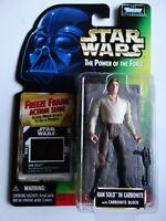 1997 Star Wars POTF Han Solo Carbonite Freeze Frame Action Slide Action Figure