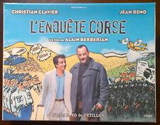 """Coffret DVD BD CD Bande Originale """"l'Enquète Corse"""" 2005"""