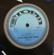 "JULIE & THE JEMS ~ 1-2-3 ~ 12"" Single"