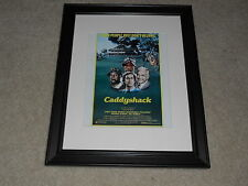 "Framed Caddyshack 1980 USA Release Mini Poster,Chevy Chase, Bill Murray 14""x17"""