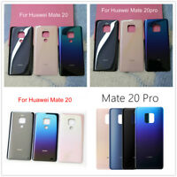 For Huawei Mate 20 Mate 20 Pro Parts Glass Back Battery Door Housing Cover Panel