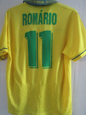 Brazil 1994 Romario 11 Home Football Shirt Large /39490