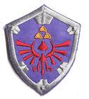 "Legend of Zelda Hyrule's Royal Crest SHIELD Logo 3"" Patch- FREE S&H (ZEPA-004)"