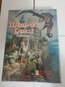 Rare Wizard's Quest Fantasy Board Game - Factory Sealed - Avalon Hill 1979 New