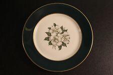 Vintage Royal Jackson Countess Madison Dark Jade Green Salad Plate