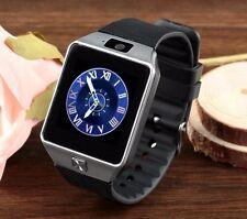 DZ09 SmartWatch Armband Uhr für Android +Silver Bluetooth Handy Uhr