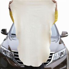 60x90cm Natural Chamois Leather Car Drying Towel  Cleaning Cloth Absorbent