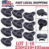 LOT Comfort Wide Big Bum Bike Bicycle Gel Cruiser Sporty Soft Pad Saddle Seat MX