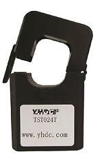 YHDC TST024T Split Core AC current Transducer Input 400A Output 4-20mA Black